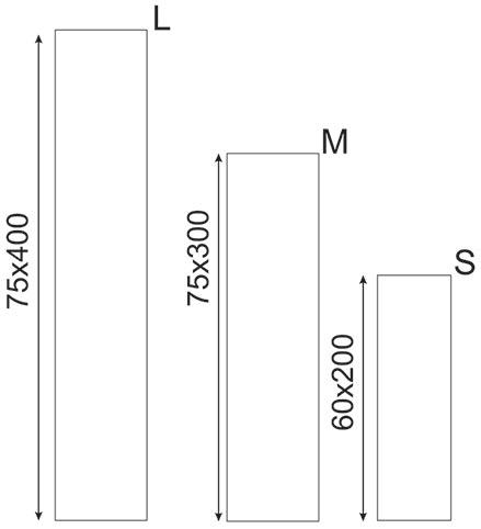 Размер флага Парус