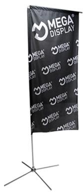 Мобильный флагшток Парус MEGA