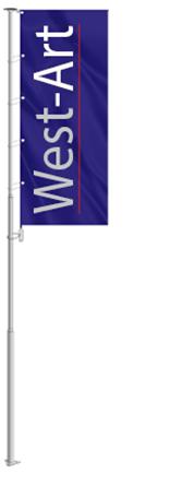 Уличный флагшток Banner