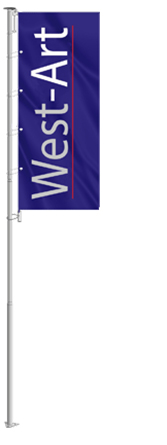 Уличный флагшток Super Banner