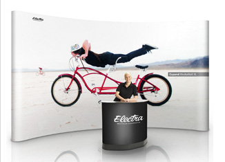 Pop-up стенды Mega Display Magnit