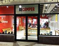 Вывеска и баннеры оформление для магазина Camper, картинка