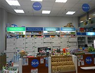 Торговое оборудование и POS материалы для сети аптек 36х6, картинка