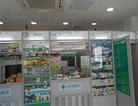Торговое оборудование и POS материалы для сети аптек Горздрав