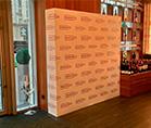 Press wall Mega Frame Wall ,оформление торговых и выставочных центров
