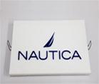 Логоблок для компании NAUTICA ,POS материалы