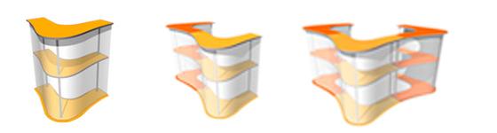 3D модели мобильного стола-ресепшен Лагуна