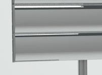 Система профилей со сменными панелями