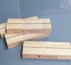 Менюхолдеры на деревянном основании из массива дуба