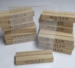Менюхолдеры из дерева для Bowler