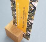 Нестандартный деревянный тэйбл тент