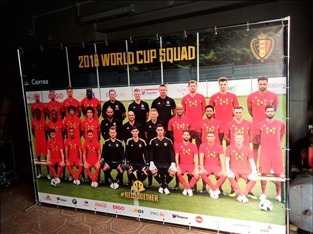 Комплексное оформление посольства Бельгии к чемпионату мира по футболу
