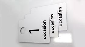 Офисные таблички на двухслойном пластике с лазерной гравировкой
