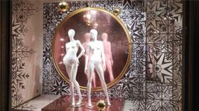 Оклейка витрин цветными пленками Oracal с использованием метода плоттерной резки, картинка