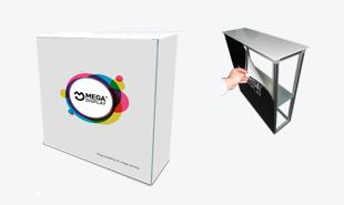 Мобильный стол ресепшн Mega Display Desk