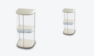 Мобильный стол ресепшен Сектор Мини