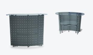 Мобильный стол-ресепшен Космо