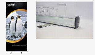 Роллерный стенд Mega Display Nero